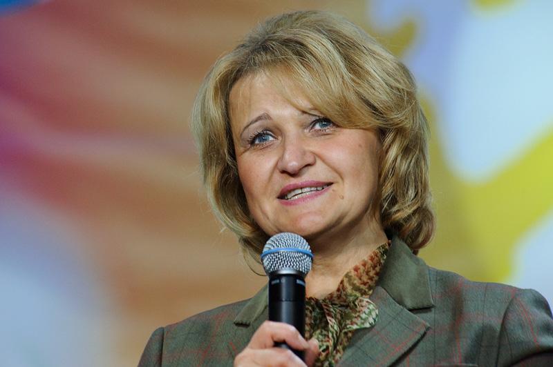 Людмила Гусева, руководитель департамента молодежной и семейной политики Москвы