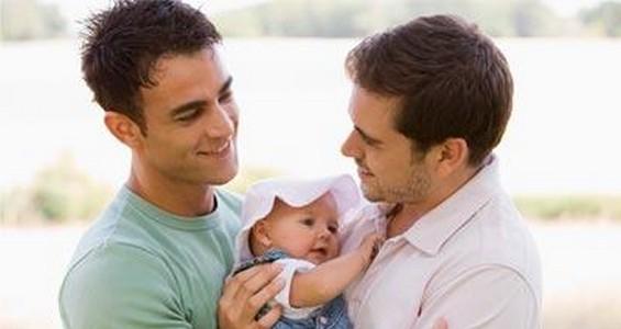 Гомосексуальная семья с ребенком