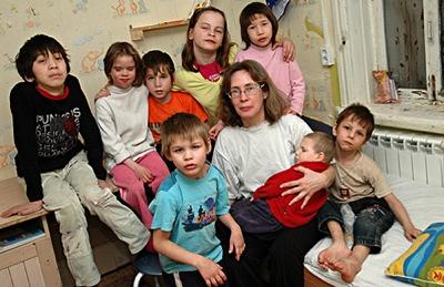 Вера Дробинская и ее дети
