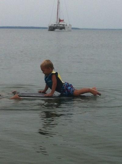 Первый урок серфинга