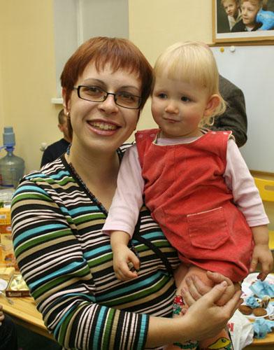 Светлана с Катей